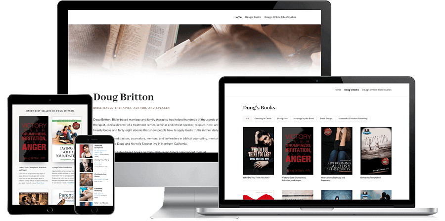 Doug Britton Website Preview