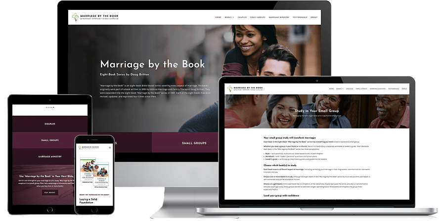 Marriage by the Book Website Preview