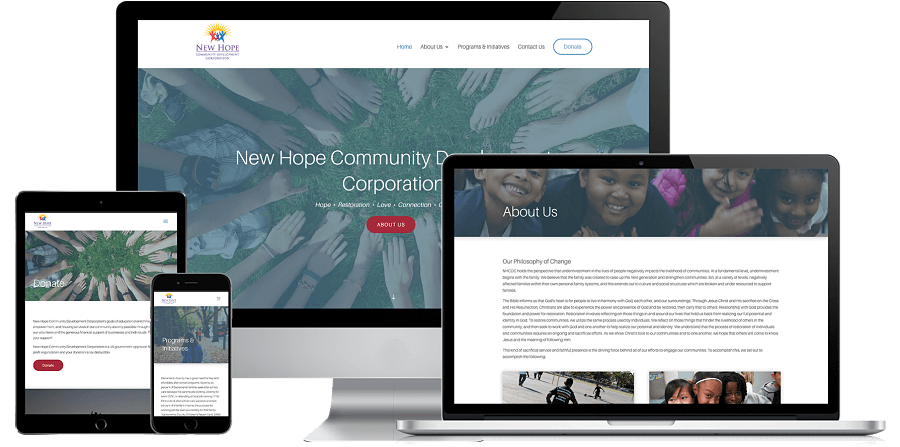 NHCDC Website Preview